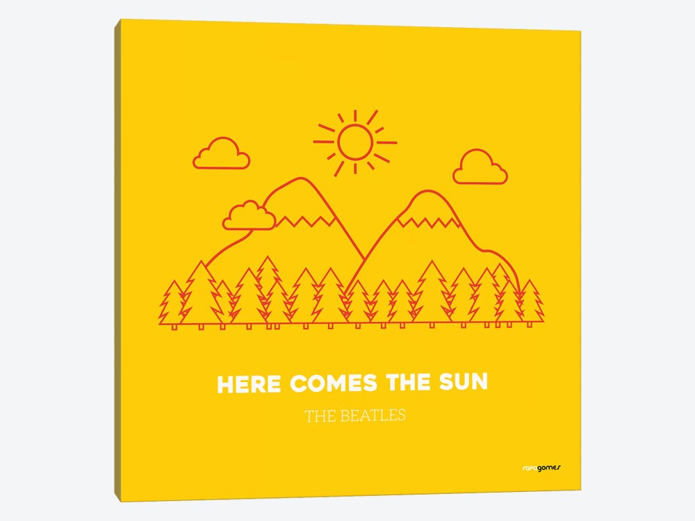 Here Comes The Sun by Rafael Gomes 1-piece Canvas Art
