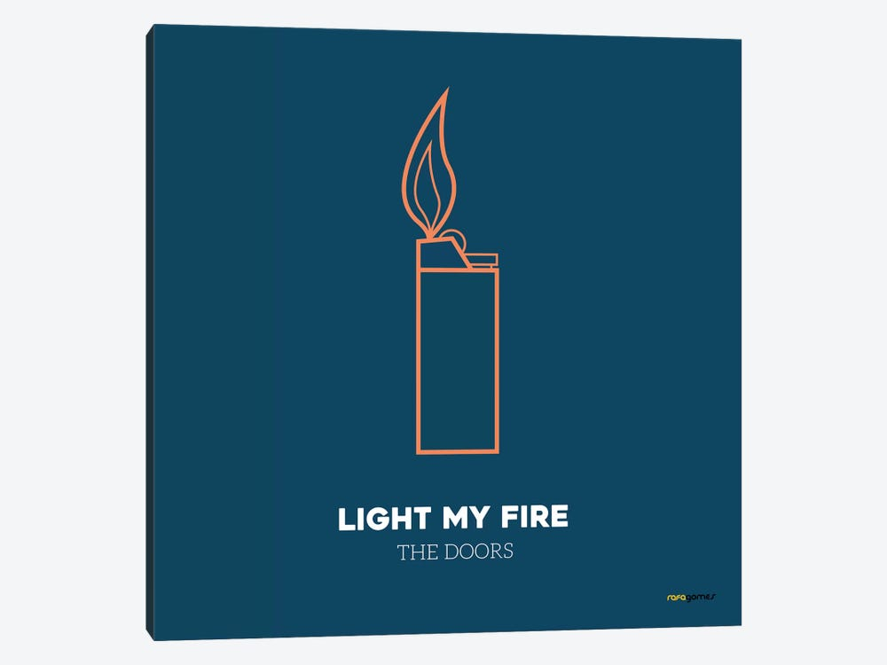 Light My Fire by Rafael Gomes 1-piece Canvas Art