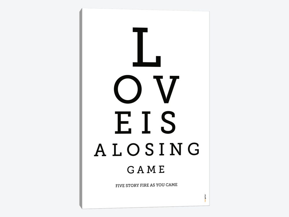 Love Is A Losing Game by Rafael Gomes 1-piece Canvas Art Print