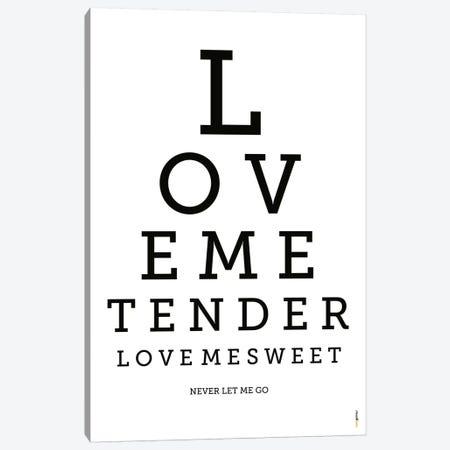 Love Me Tender Canvas Print #RAF27} by Rafael Gomes Canvas Art Print