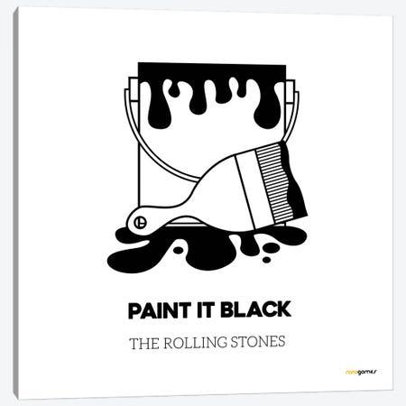 Paint It Black 3-Piece Canvas #RAF32} by Rafael Gomes Art Print