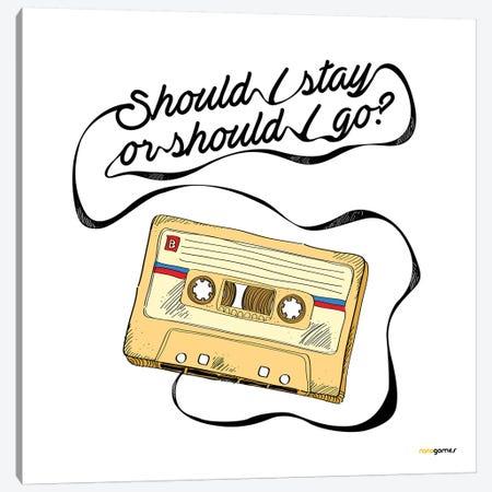 Should I Stay Or Should I Go Canvas Print #RAF36} by Rafael Gomes Canvas Artwork