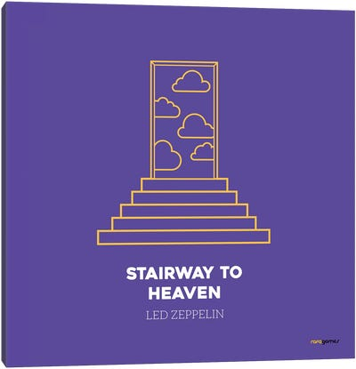 Stairway To Heaven Canvas Art Print