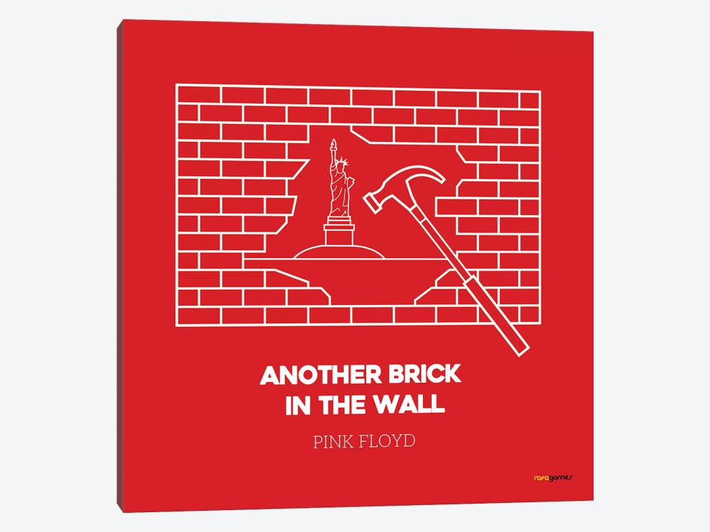Another Brick In The Wall by Rafael Gomes 1-piece Canvas Print