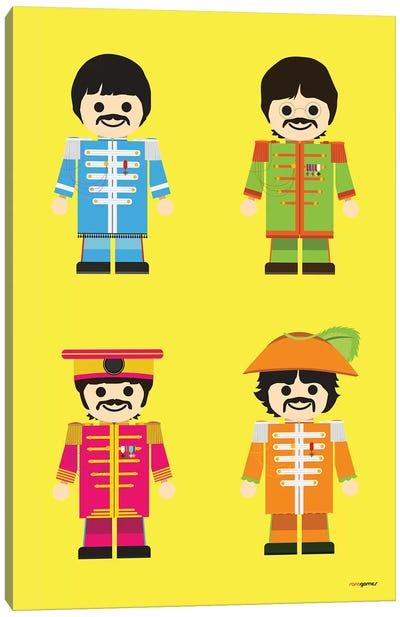 Toy Beatles Canvas Art Print