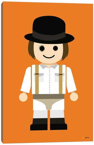 Toy Clockwork Orange Canvas Art Print