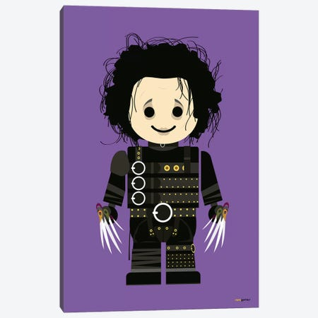 Toy Edward Canvas Print #RAF48} by Rafael Gomes Canvas Artwork