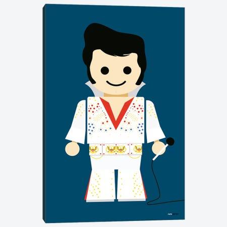 Toy Elvis Canvas Print #RAF49} by Rafael Gomes Canvas Art