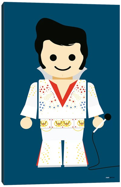 Toy Elvis Canvas Art Print