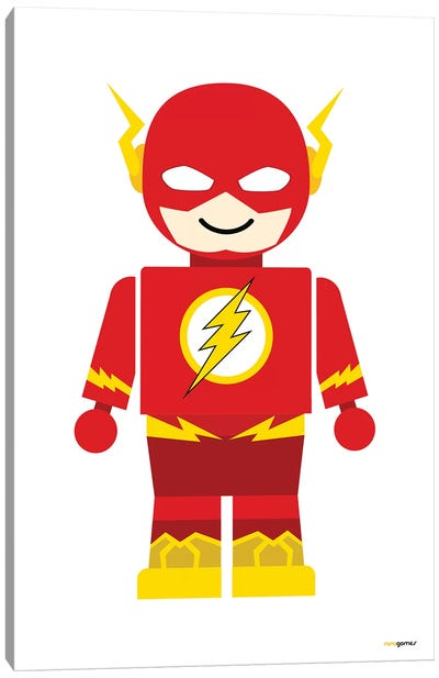 Toy Flash Canvas Art Print
