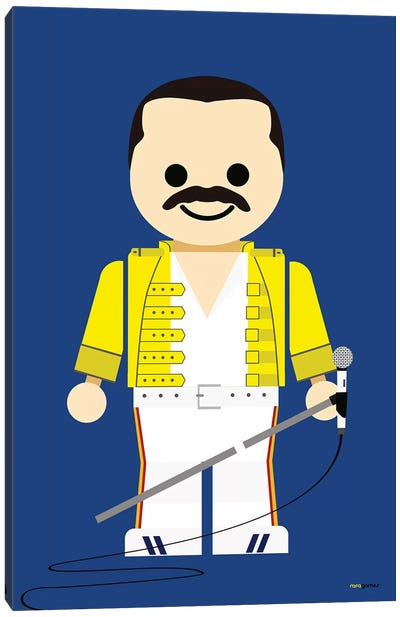 Toy Freddie Mercury Canvas Art Print