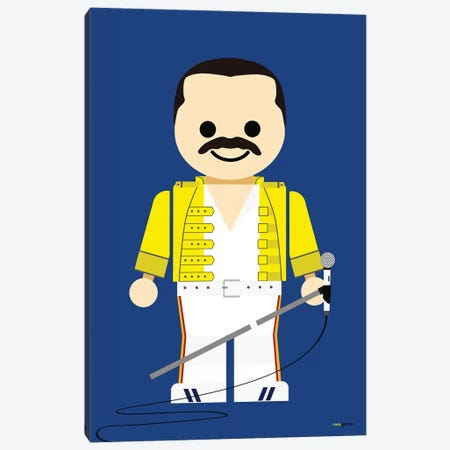 Toy Freddie Mercury Canvas Print #RAF51} by Rafael Gomes Canvas Print