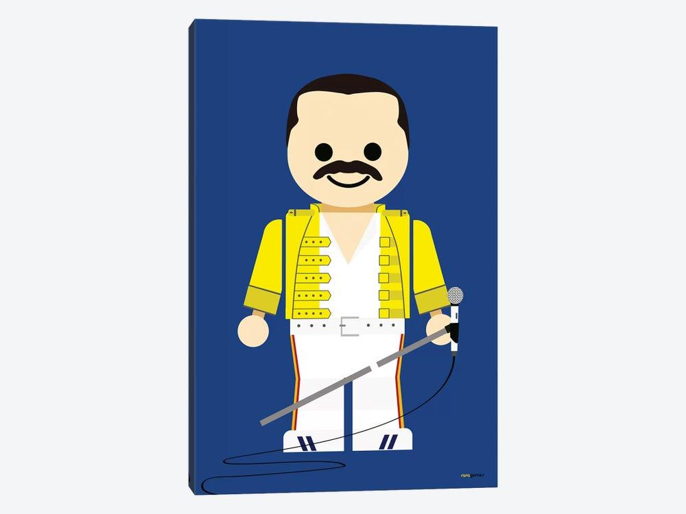 Toy Freddie Mercury by Rafael Gomes 1-piece Canvas Print