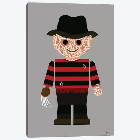 Toy Freddy Krueger Canvas Print #RAF52} by Rafael Gomes Art Print