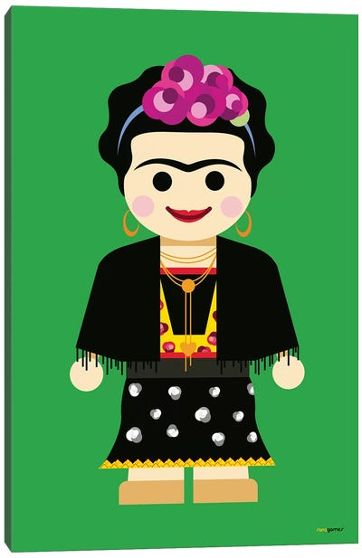 Toy Frida Canvas Art Print