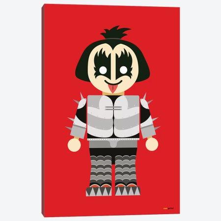 Toy Gene Simmons Canvas Print #RAF54} by Rafael Gomes Canvas Artwork