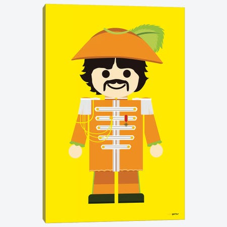Toy George Harrison Canvas Print #RAF55} by Rafael Gomes Canvas Artwork