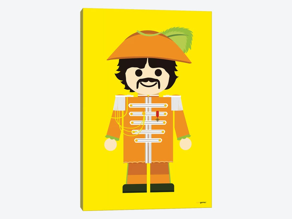 Toy George Harrison by Rafael Gomes 1-piece Canvas Art Print