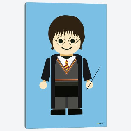 Toy Harry Potter Canvas Print #RAF56} by Rafael Gomes Canvas Artwork
