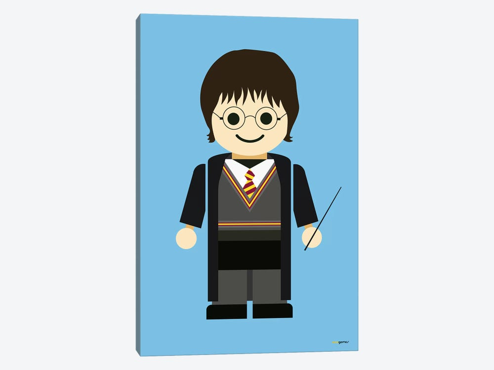 Toy Harry Potter by Rafael Gomes 1-piece Canvas Wall Art
