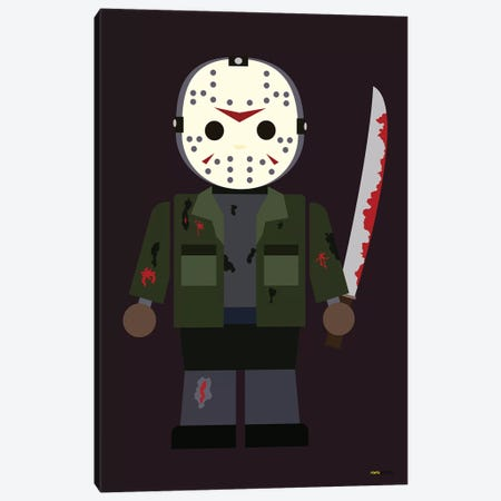 Toy Jason Canvas Print #RAF57} by Rafael Gomes Canvas Art