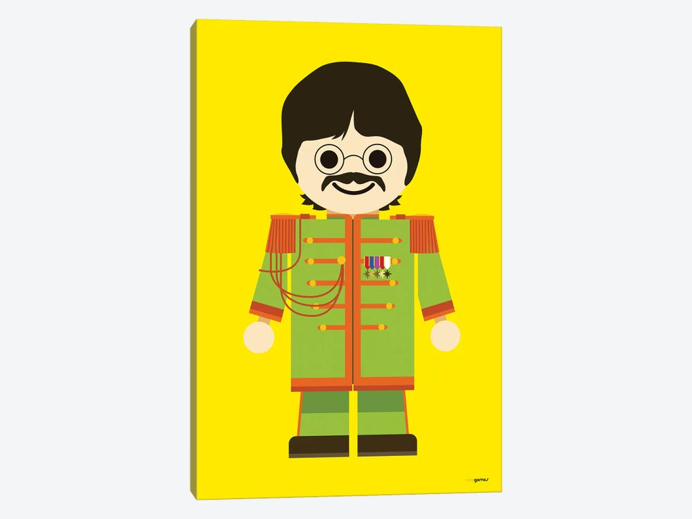 Toy John Lennon by Rafael Gomes 1-piece Canvas Art Print