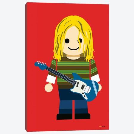 Toy Kurt Cobain Canvas Print #RAF61} by Rafael Gomes Canvas Wall Art