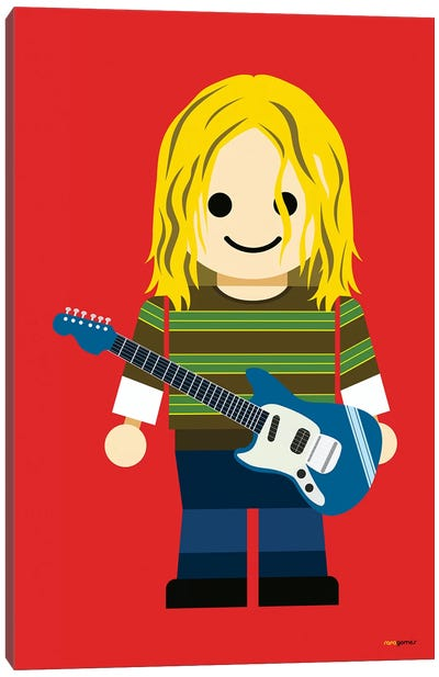Toy Kurt Cobain Canvas Art Print
