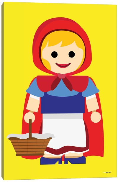 Toy Little Red Riding Hood Canvas Art Print