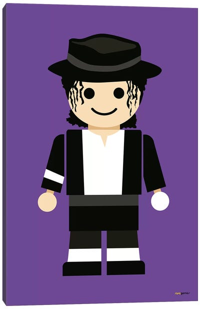 Toy Michael Jackson Canvas Art Print