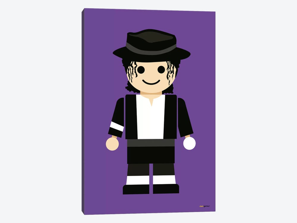 Toy Michael Jackson by Rafael Gomes 1-piece Art Print