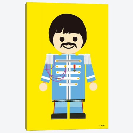 Toy Paul McCartney Canvas Print #RAF65} by Rafael Gomes Art Print