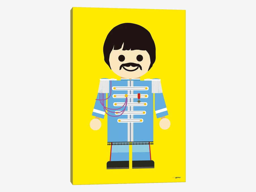 Toy Paul McCartney by Rafael Gomes 1-piece Canvas Wall Art