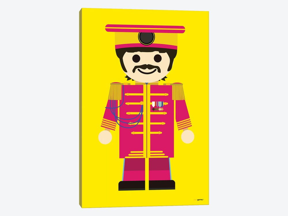 Toy Ringo Starr by Rafael Gomes 1-piece Canvas Print