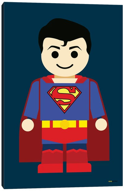 Toy Superman Canvas Art Print
