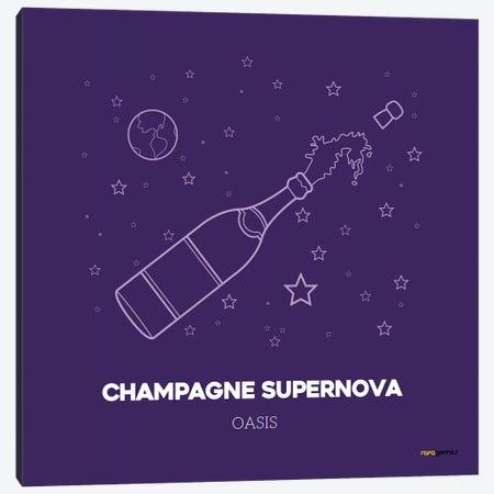 Champagne Supernova 3-Piece Canvas #RAF6} by Rafael Gomes Canvas Art Print