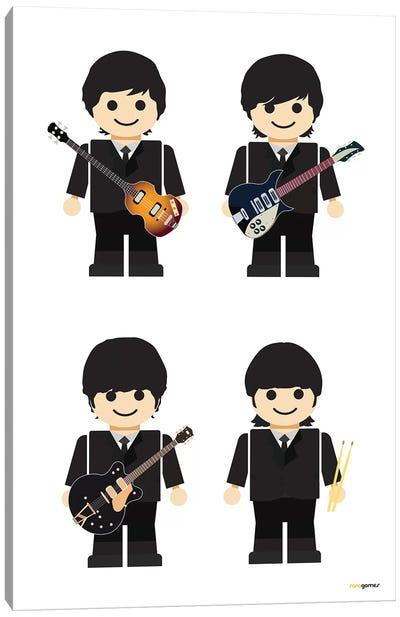 Toy The Beatles I Canvas Art Print