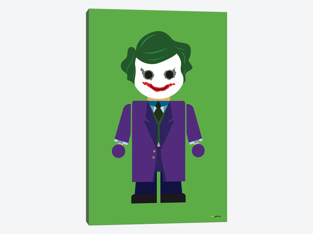 Toy The Joker by Rafael Gomes 1-piece Canvas Print