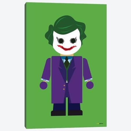 Toy The Joker Canvas Print #RAF71} by Rafael Gomes Canvas Art Print