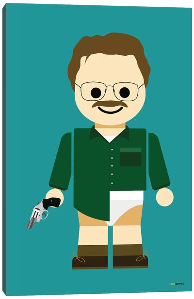 Toy Walter White Canvas Art Print