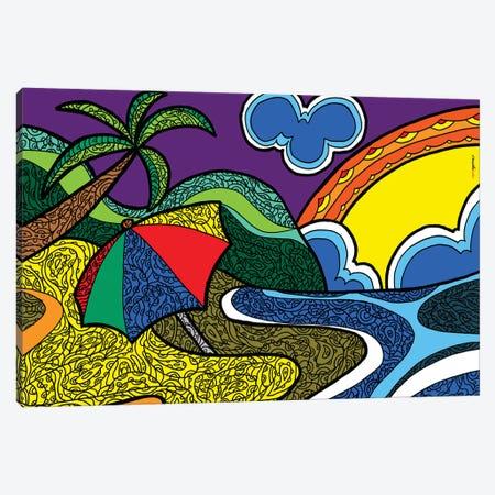 Boa Viagem Canvas Print #RAF76} by Rafael Gomes Canvas Wall Art