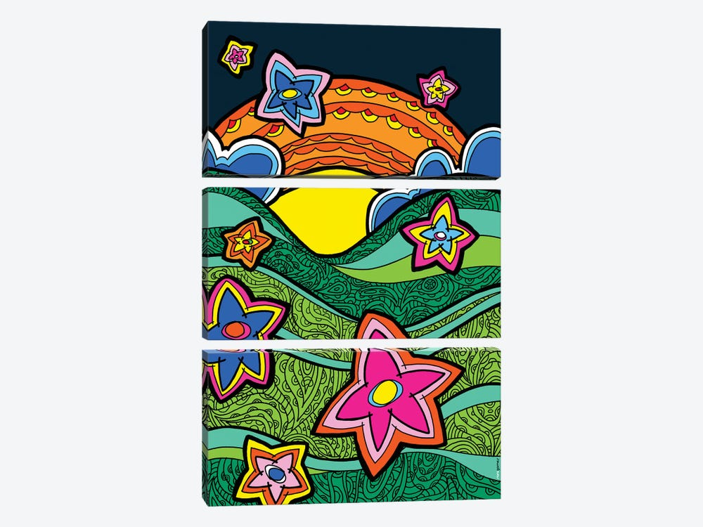 Guaramiranga by Rafael Gomes 3-piece Canvas Artwork