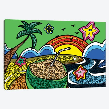 Praia do Iguape Canvas Print #RAF81} by Rafael Gomes Canvas Wall Art