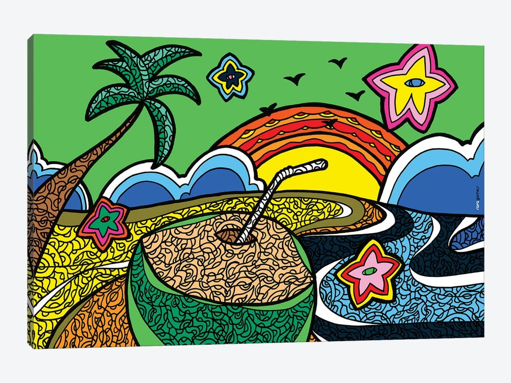 Praia do Iguape by Rafael Gomes 1-piece Canvas Artwork