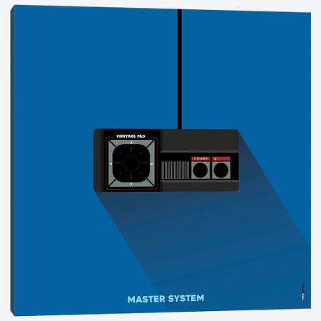 Joystick Master System Canvas Print #RAF89} by Rafael Gomes Canvas Art