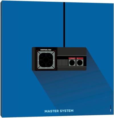 Joystick Master System Canvas Art Print