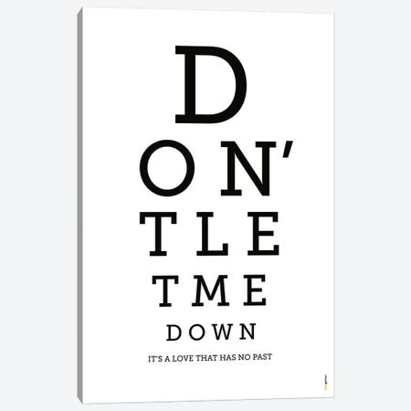 Don't Let Me Down Canvas Print #RAF8} by Rafael Gomes Canvas Artwork