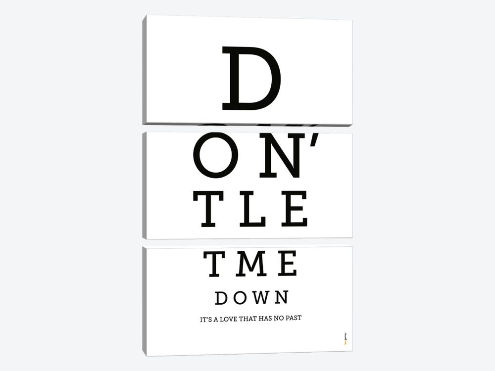 Don't Let Me Down by Rafael Gomes 3-piece Canvas Wall Art