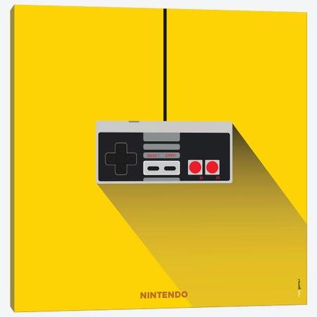 Joystick Nintendo Canvas Print #RAF91} by Rafael Gomes Canvas Print