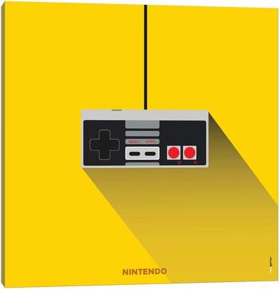 Joystick Nintendo Canvas Art Print
